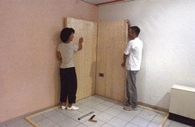 sauna abbauen und wieder aufbauen der sauna heimwerker. Black Bedroom Furniture Sets. Home Design Ideas