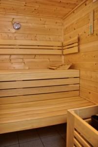 Sauna-Innenansicht